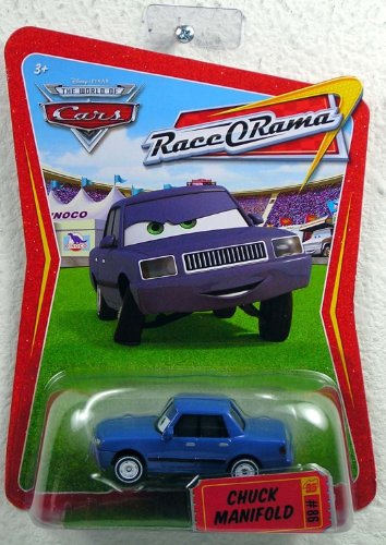 Disney / Pixar CARS Movie 1:55 Die Cast Car Series 4 Race-O-Rama Chuck Manifold