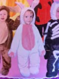 Bunny rabbit Halloween Costume Jumpsuit with attached hood 9-12 months