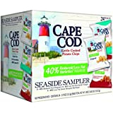Cape Cod Kettle Seaside Sampler Potato Chips, 24 Count