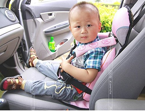 AND Retails Baby Infants Car Seat Belt Cushion Safety Protective Carrier (Colour May Vary)