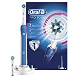 Oral B Oral-B Pro 3000 Crossaction Electric Rechargeable Toothbrush Powered