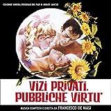 Francesco de Masi Vizi Privati, Pubbliche Virtu (OST)