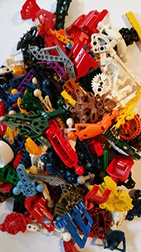 Alexander James `MOC Fodder` Bulk Vintage Lego Bionicle Parts - 1 Pound
