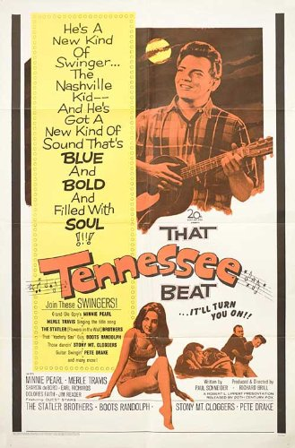 That Tennessee Beat 1966 Original Usa One Sheet Movie Poster Richard Brill Earl 'Snake' Richards