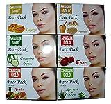 SHAGUN GOLD Face Pack Combo (6x1) 100g each