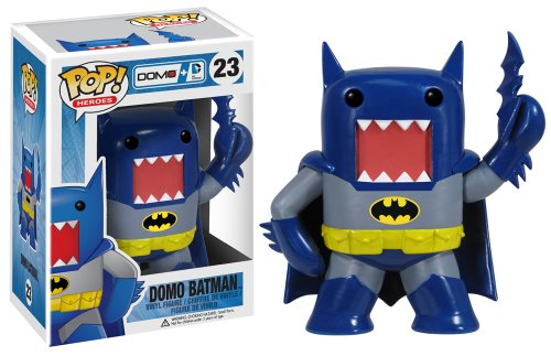 Funko Pop Heroes Domo Batman Vinyl Action Figure, Blue - 1
