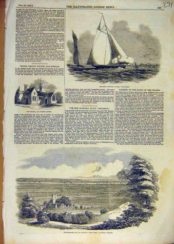 1853 Sporting Yacht Rifleman School Marshes Plumstead