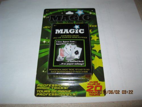 Magic Trick Cards- Tapered Deck - 1