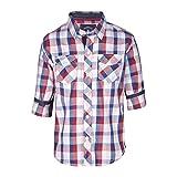 Gini & Jony Baby Boys' Shirt (121010162352 C454_Tomato_24M)