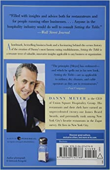 danny meyer book review setting the table