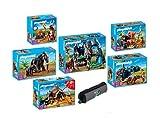 PLAYMOBIL® Steinzeit Set 5100,5101,5102,5103,5104,5105+Playmobil Schlamperrolle