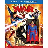 Image de Dcu Justice League: War [Blu-ray]