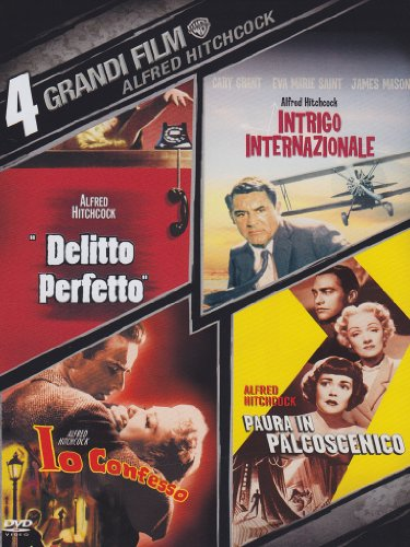 4 grandi film - Alfred Hitchcock [4 DVDs] [IT Import]