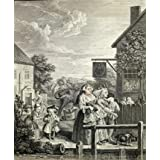 Evening, by William Hogarth (V&A Custom Print)