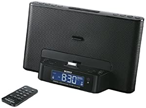Sony ICFDS15IPB.CEK Dock Clock Radio for iPod and iPhone