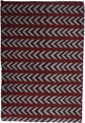 Sarong/Lungi Unisex 'Sandy & Simon', brown patterned, 186x120 cm