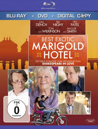 Best Exotic Marigold Hotel (+ DVD) [Blu-ray]