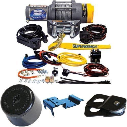 3500lbs-Winch-Bundle-with-UTV-Mounting-Kit-for-Polaris