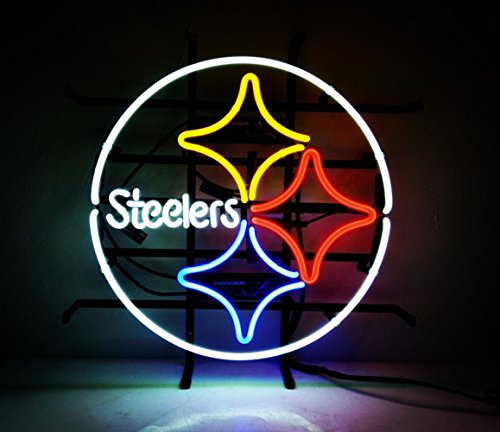 Pittsburgh Steelers Neon Light, Steelers Neon Sign, Neon