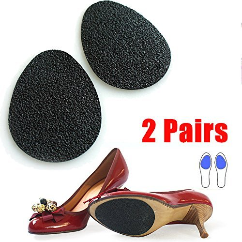 2 Pair Self-Adhesive Anti-Slip Stick Shoe Heel Grip Pads Sole Protectors Cushion