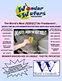 51pDYsFkfaL. SL160  Wonder Wafers 10 CT Individually Wrapped Air Fresheners New Leather