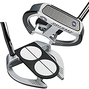 Odyssey Golf Men's Works Versa 2-Ball Fang Lined Putter