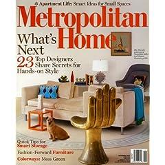 Metropolitan Home [US] November 2008 (�P��)