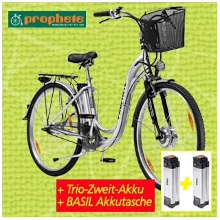elektrofahrrad mit 2 akkus 26er prophete trio alu elektro. Black Bedroom Furniture Sets. Home Design Ideas