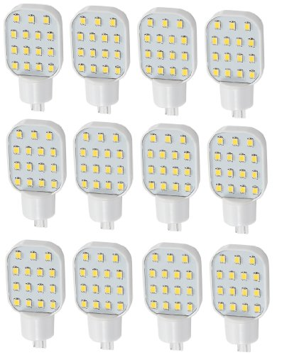 12 X Gold Stars 92111804-12 Led Replacement Bulb 921 Base 150 Lum 12 Or 24V Natural White
