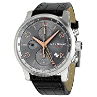 Montblanc Timewalker Automatic Chronograph Anthracite Dial Mens Watch 107063 from Montblanc