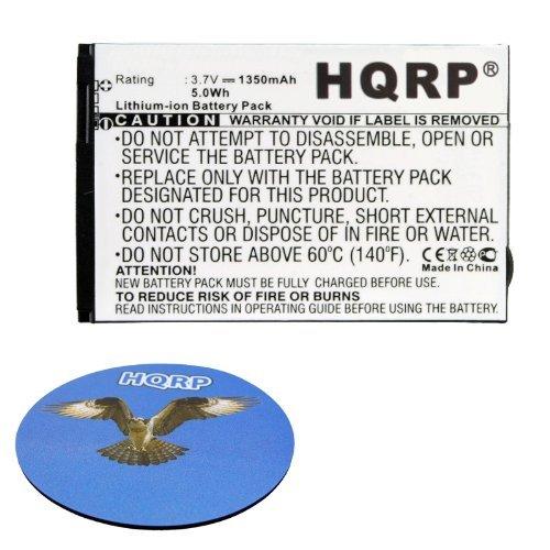 HQRP Battery for VERIZON 40115118.001 40123111.00 fits Hotspot 2235, Hotspot 2372, Hotspot 3352, Hotspot 4510, Hotspot 4510L, Jetpack 4G LTE, MiFi 4510L, MiFi 4620L Mobile Hotspot + HQRP Coaster
