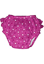 I Play Baby Girls' Polka Dot Swim Diaper