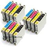 Epson Stylus D68 x12 Compatible Printer Ink Cartridges