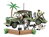 COBI Small Army Jeep Willy's Military B with Mortar Construction Vehicle
