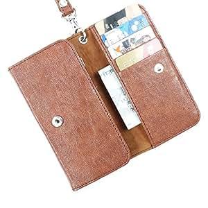 Dooda PU Leather Flip Pouch Case For Spice Stella 361
