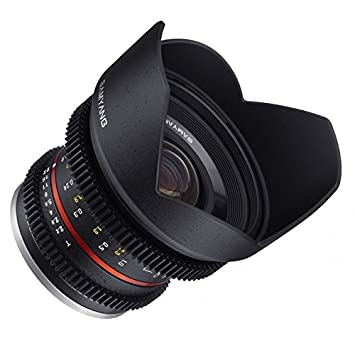 Samyang Objectif pour Sony E 12 mm T2.2 Cine Noir
