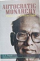 Autocratic Monarchy Politics in Panchayat…