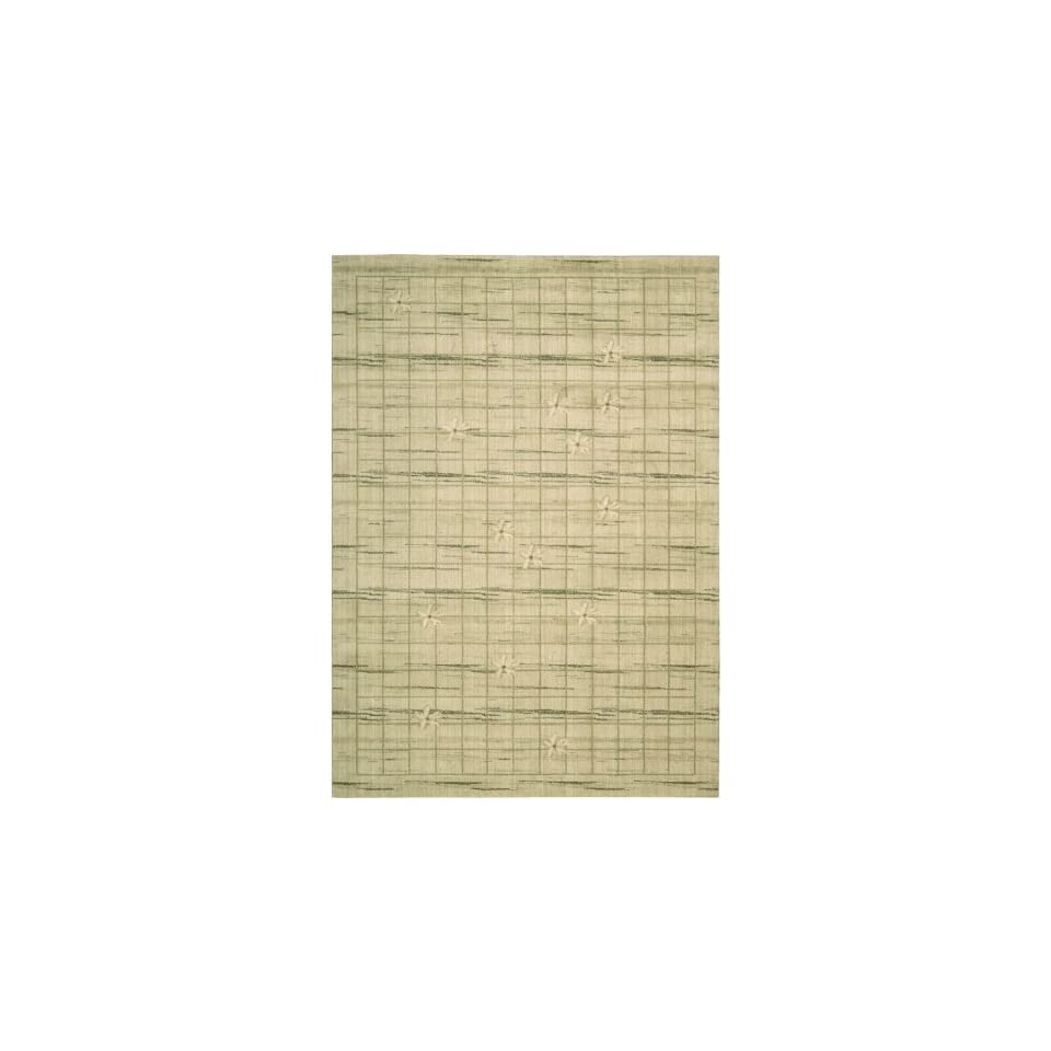 Calvin Klein Woven Textures Collection Ivory Wool Rug 2.30 x 8.00.