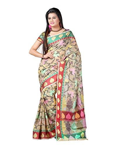 Sai Krupa Silk Women's Silk Brocade Sarees(PTF374C)