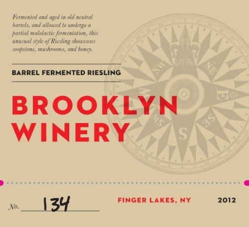 2012 Brooklyn Winery Barrel Fermented Riesling 750 Ml