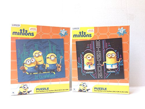 2015-New-Minions-Puzzle-48pcs-2-Sets