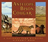 Antelope, Bison, Cougar: A National Park Wildlife Alphabet Book
