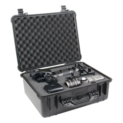 Peli 1550 Protector Case With Foam Black