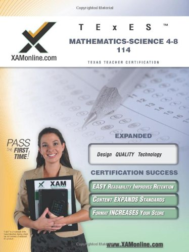 Texes Mathematics-Science 4-8 114 Teacher Certification Test Prep Study Guide (Xam Texes)
