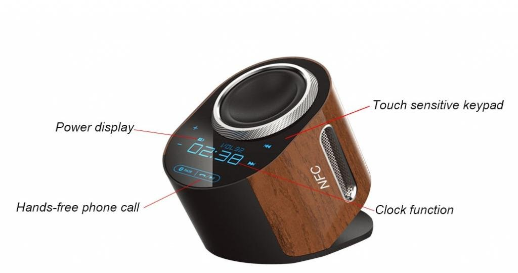 TB1 Products ® Wooden Effect WIRELESS PORTABLECustomer reviews and more description