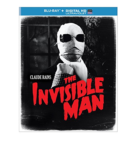 The Invisible Man (Blu-ray + DIGITAL HD with UltraViolet)