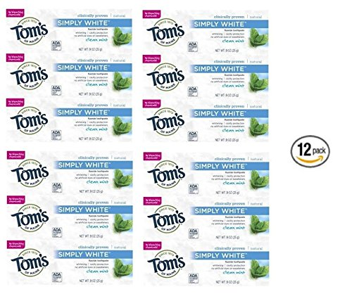 toms-of-maine-toothpaste-clean-mint-simply-white-trial-size-09-ounce-12-count-by-toms-of-maine