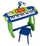 Toy - Simba 106838886 - My Music World, Standkeyboard, Light & Sound