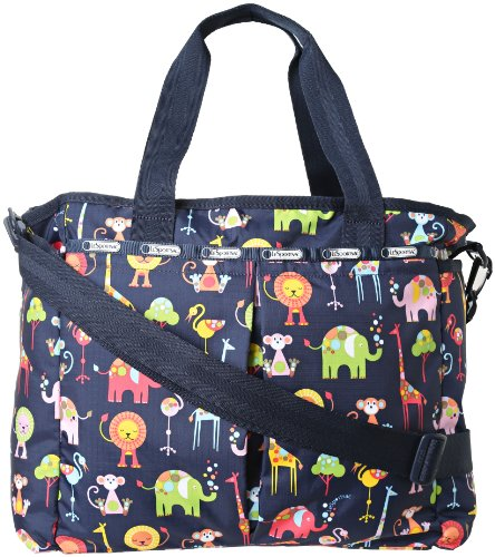 LeSportsac Ryan Baby Diaper Bag,Zoo Cute,One Size - 1