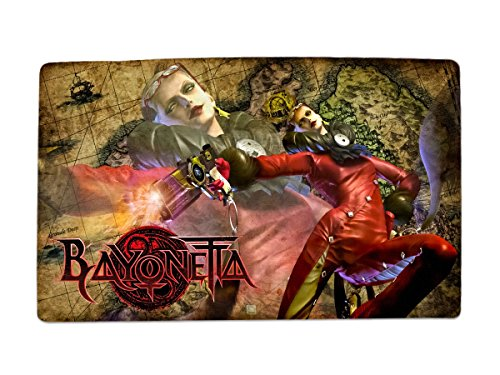 A Wide Variety Of Bayonetta Game Characters Desk & Mouse Pad Table Play Mat (Jeanne 1)